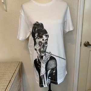 Zombie At Tiffany's by Threadless Graphic T Shirt